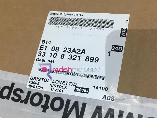 6,4x18x5mm 11127832085 BMW E46 M3 ZM4 3.2 couvercle de culasse Spacer