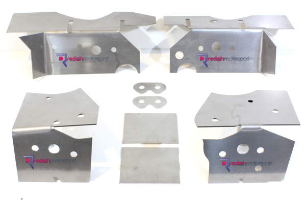 E46 V2 RACP Reinforcement Plate Kit - Redish Motorsport